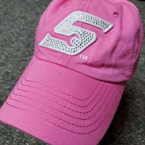 Pink Womens Snap-On Hat